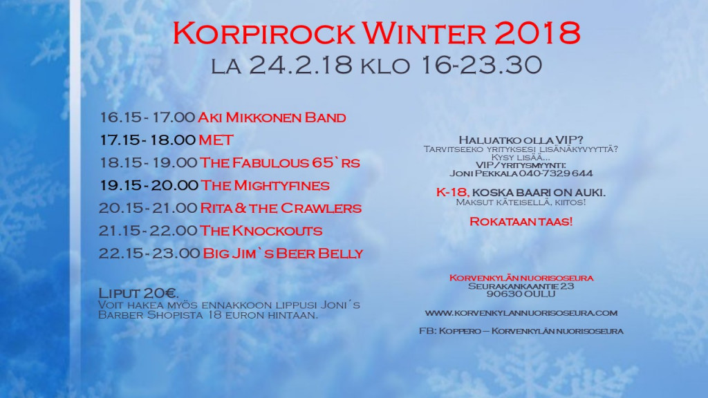 Korpirock Winter 2018 a4