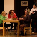 kuvassa vasemmalta Ulla Härkönen, Katri Visuri, Riitta Candelin ja Eila Taurianen
